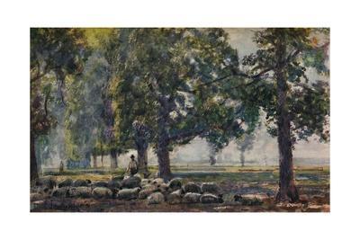 'Tending the Flocks', c1895