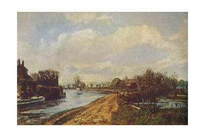 'The Canal at Rickmansworth', 1908 (1935)