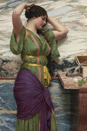A Fair Reflection, 1915 by John William Godward