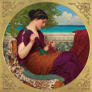 Far Away Thoughts, 1911 by John William Godward