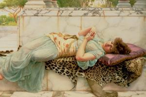 The Betrothed, 1892 by John William Godward