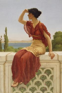 The Signal, 1899 by John William Godward