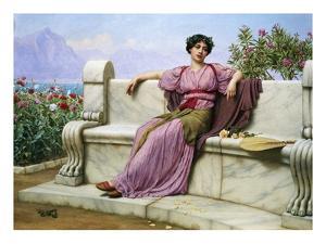Tranquility by John William Godward