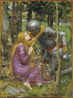 A Study for 'La Belle Dame Sans Merci', C.1893 by John William Waterhouse
