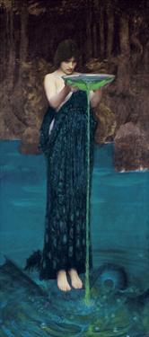 Circe Invidiosa, 1892 by John William Waterhouse