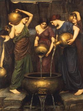 Danaides, 1904 by John William Waterhouse
