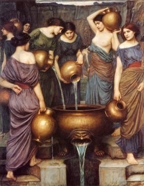 Danaides by John William Waterhouse