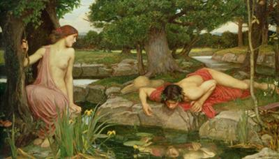 Echo and Narcissus, 1903 by John William Waterhouse