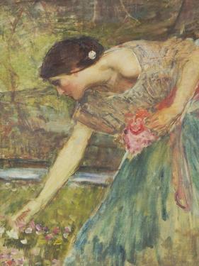 Gathering Roses by John William Waterhouse