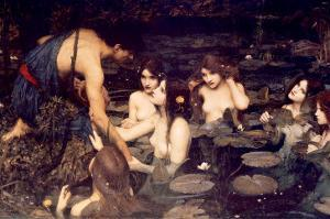 Hylas and Nymphs by John William Waterhouse