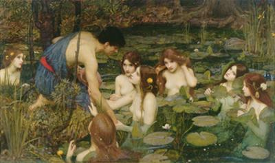 Hylas and the Nymphs, 1896 by John William Waterhouse