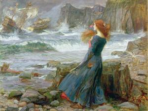 Miranda, 1916 by John William Waterhouse