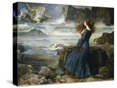 Study for /'/'Echo and Narcussis/' JOHN WILLIAM WATERHOUSE Pre-Raphaelite Poster
