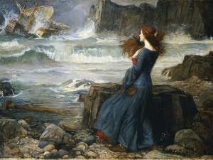 Miranda - the Tempest, 1916 by John William Waterhouse