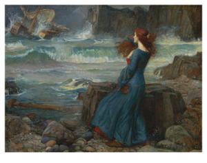Miranda -The Tempest by John William Waterhouse