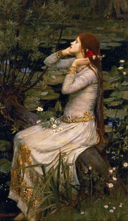 Ophelia, 1894 by John William Waterhouse