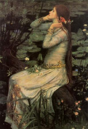 Ophelia, c.1894 by John William Waterhouse