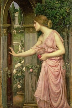 Psyche Entering Cupid's Garden, 1903 by John William Waterhouse