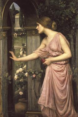 Psyche Entering Cupid's Garden by John William Waterhouse