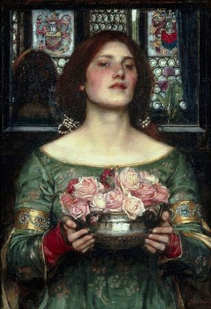 John William Waterhouse Rosebuds Art Print Poster