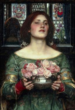 John William Waterhouse Rosebuds Art Print Poster