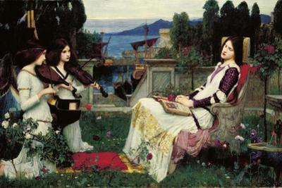 St. Cecilia by John William Waterhouse