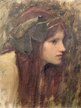 Study For a Naiad by John William Waterhouse