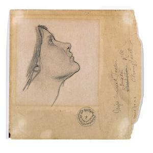 Study for 'Lamia', C.1904-05 (Pencil on Paper) by John William Waterhouse