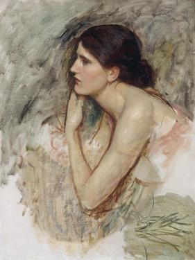 Study for 'The Sorceress' by John William Waterhouse