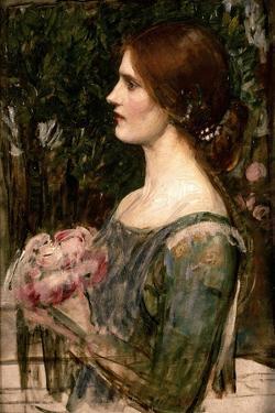 The Bouquet, C.1908 by John William Waterhouse