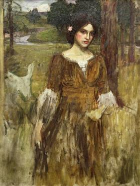 The Lady Clare, C.1900 by John William Waterhouse