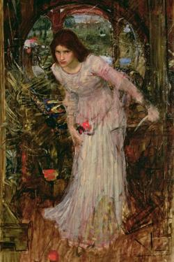 The Lady of Shalott, C.1894 by John William Waterhouse