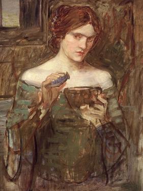 The Love Philtre, c.1913-14 by John William Waterhouse