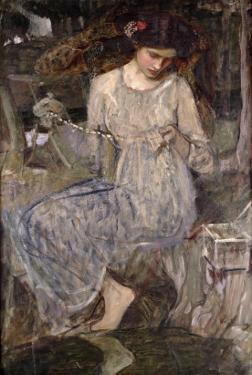 The Necklace, C.1909 by John William Waterhouse