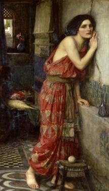 Thisbe' or 'The Listener', 1909 by John William Waterhouse
