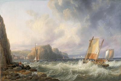 Off the Yorkshire Coast, Staithes, 1861