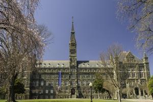 Georgetown University Campus Washington, D.C., United States of America, North America by John Woodworth