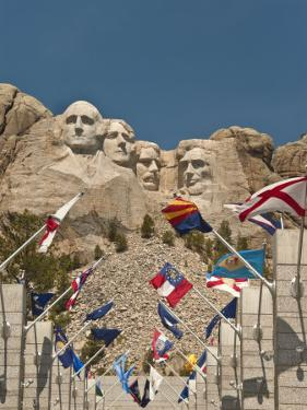 Mount Rushmore National Monument, South Dakota, United States of America, North America by John Woodworth