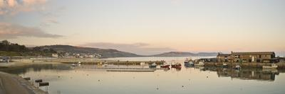 Panoramic View Back to the Harbour at Lyme Regis Taken from the Cobb