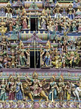 Sri Mariamman Hindu Temple, Singapore, Southeast Asia, Asia by John Woodworth