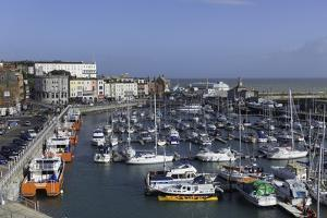 View of the Royal Harbour and Marina at Ramsgate, Kent, England, United Kingdom by John Woodworth