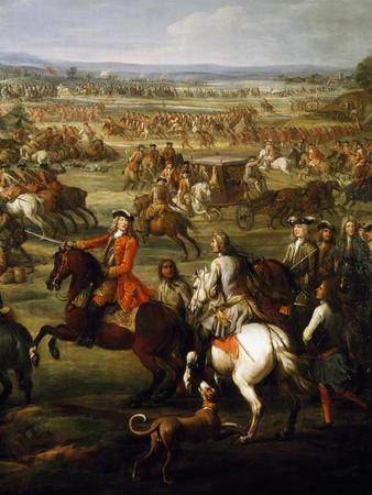 First Duke of Marlborough, Detail from Battle of Blenheim, August 13, 1704