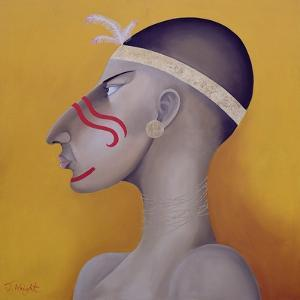 Native Americans Series, No. 1, 1998 by John Wright