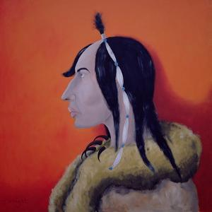 Native Americans Series, No. 5, 1998 by John Wright
