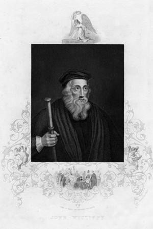 John Wycliffe, English Theologian, 19th Century by J Rogers