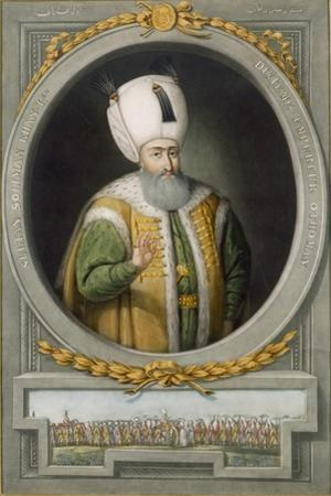 Sultan Suleiman Khan I, 10th Sultan of the Ottoman Empire, 1815 by John Young