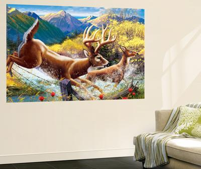 Big Buck HD Cabinet Art by John Youssi