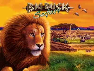 Big Buck Safari Cabinet Art with Logo by John Youssi