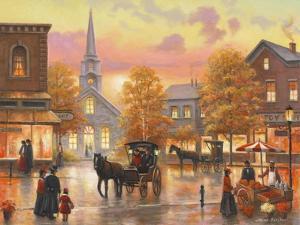 Autumnal Breeze in Pleasantville by John Zaccheo