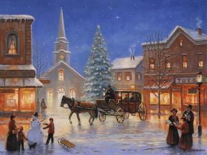 Christmas in Pleasantville by John Zaccheo